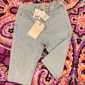 Bonpoin baby girl jeans